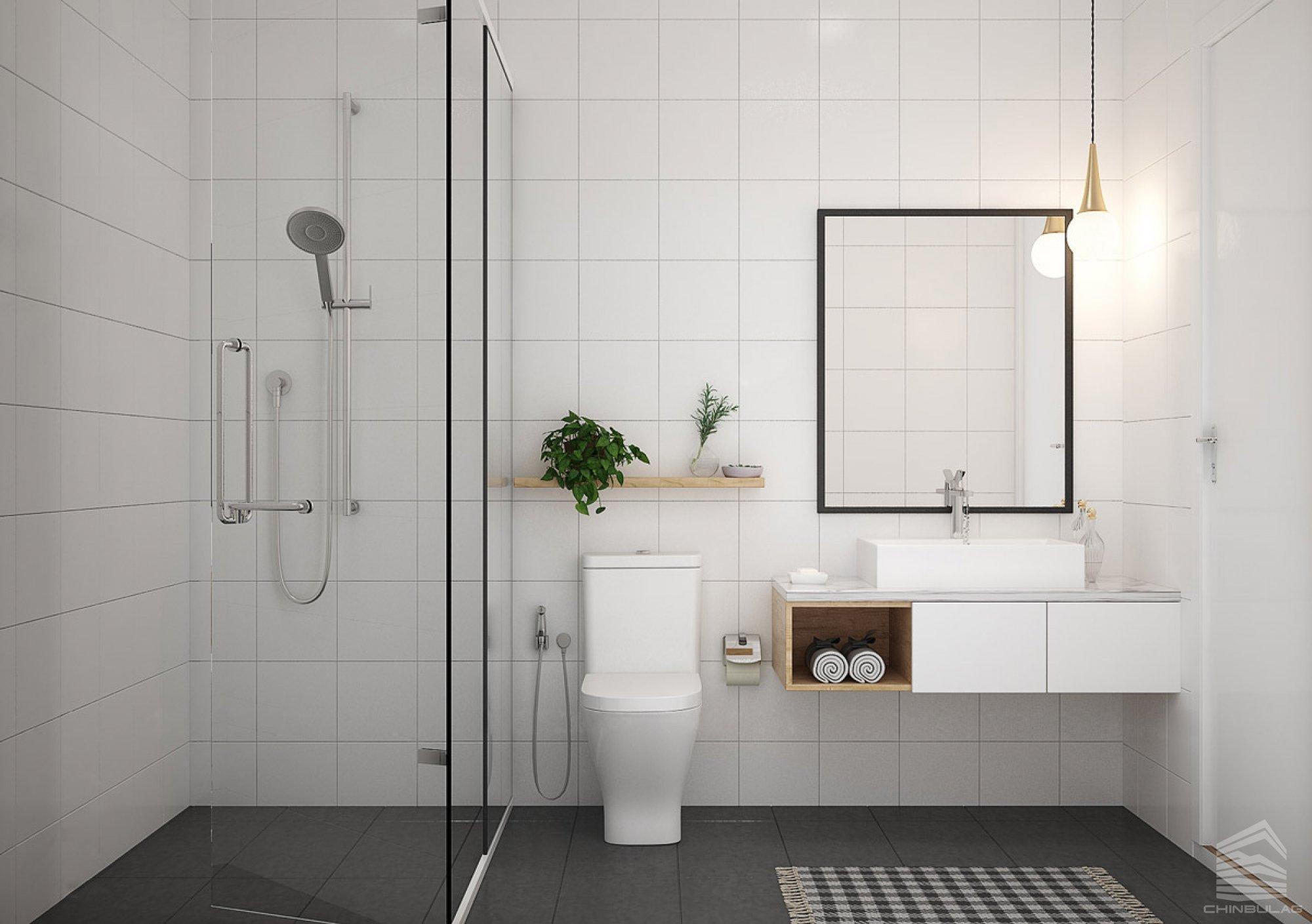 Минимал хэв маягт дурлагсаддаа угаалгын өрөөний өвөрмөц санаануудийг хүргэж байна.